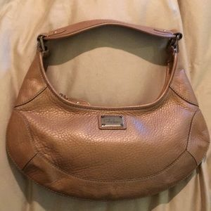 Cole Haan Jackie O style leather purse bag